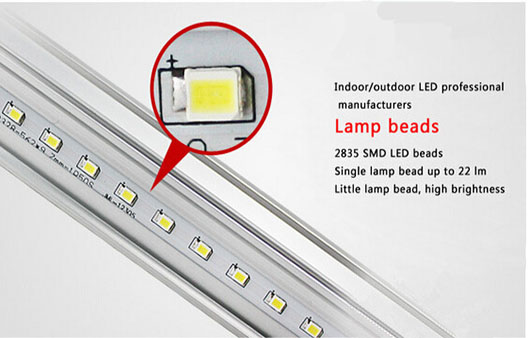Saperated LED Tube with different material