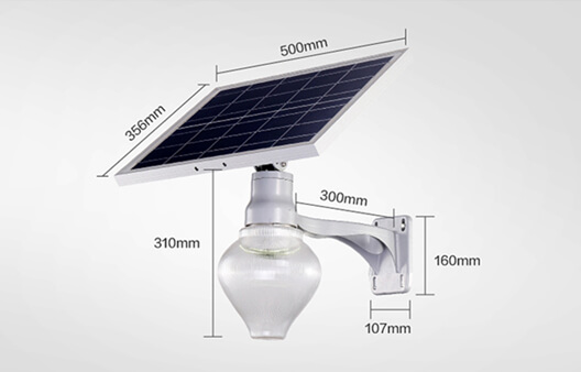 Solar LED Garden Light-Apple light