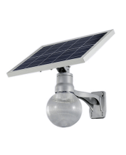solar led integrated garden lig